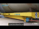 1-300 ton remote control intelligent rail transfer cart for material workpiece moving trolley