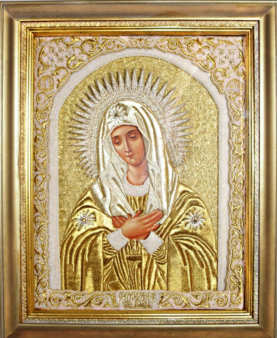 Икона Божией Матери «Умиление» Серафимо-Дивеевская -