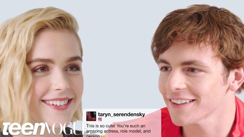 Kiernan Shipka and Ross Lynch Face-Off in a Compliment Battle | Teen Vogue