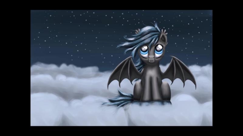 MLP: Bat ponies (Skillet–Whispers In The Dark)