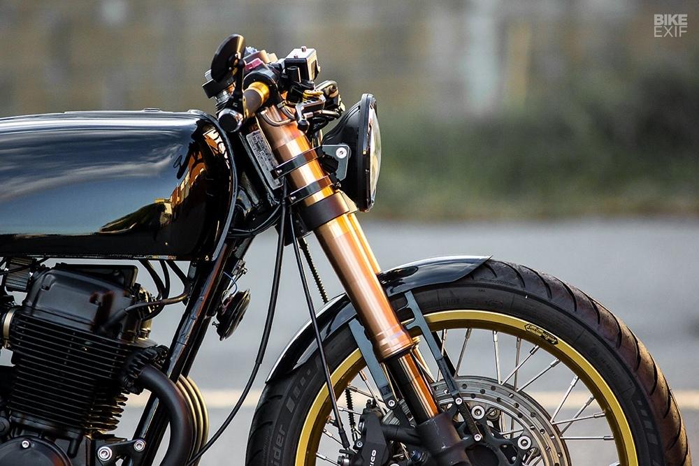 Rogue Motorcycle: кафе рейсер Honda CB750