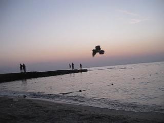 Моя интервальная съёмка Zeitraffer, Timelapse - 12 - Одесса. .18.08.18. 6 утра - восход Солнца на море