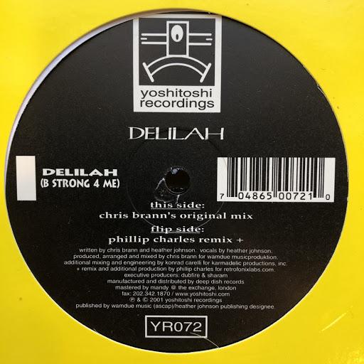 Delilah альбом Delilah (B Strong 4 Me)