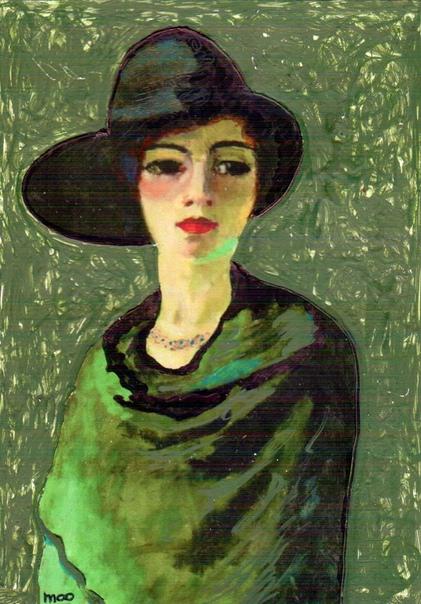 Кеес ван Донген (нидерл. ees van Dongen; 26 января 1877-1968) нидерландский художник, один из основоположников фовизма. Наиболее известен как автор стилизованных женских портретов.