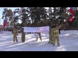 Бойцы МЧС на коньках – флешмоб в Челябинске