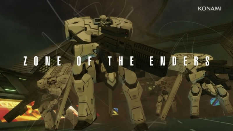 ZONE OF THE ENDERS THE 2nd RUNNER M∀RS Opening Trailer