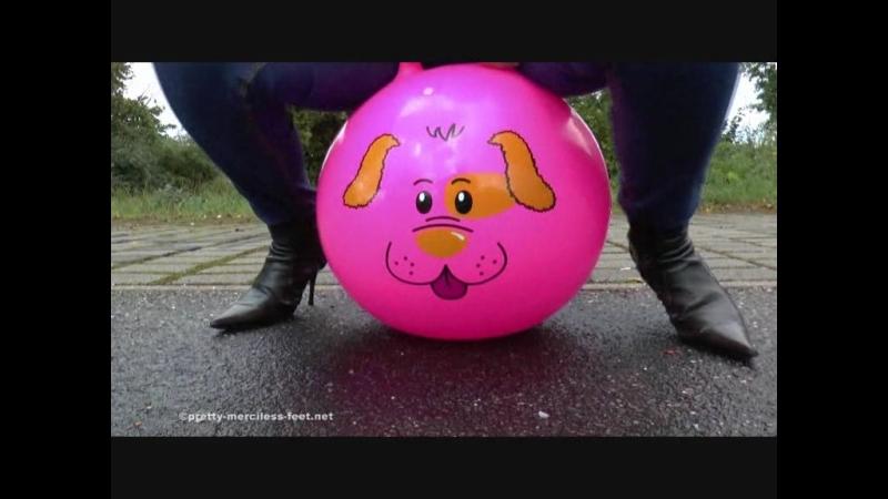 Inflatable jumping Ball destruction 2