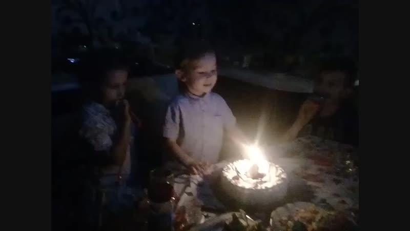 4 годика сынуля Егорка