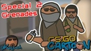 CS:GO Cartoon. Special 2 Типичная раскидка гранат