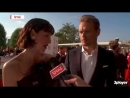 Sam Heughan and Caitriona Balfe Xposé Interview at BAFTAs 2018