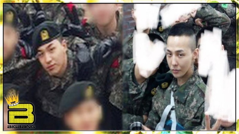 [UPDATE] Taeyang, Daesung G-Dragon - Military Service (REAL FOOTAGE)