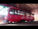 В Донецке презентовали трамвай