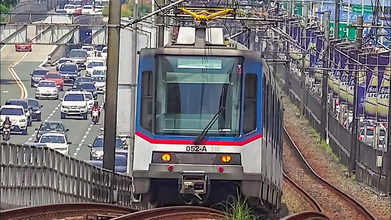 RailWay. Manila Metro Rail Transit System. Metrostar Express - MRT Line 3/Метрополитен Манилы. MRT 3