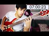 SLAPPING the BASS but I CAN'T STOP until FLEA (RHCP) notices me (Davie504)