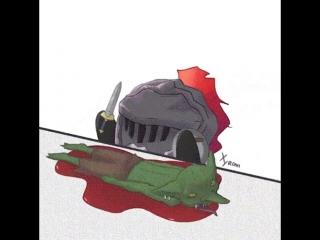 Purple sunset (slayer killing goblins)