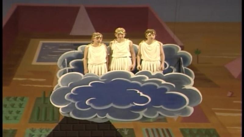 Волшебная флейта - Вольфганг Амадей Моцарт - Ted Huffman, Benjamin Schott, Per-Christian Brevig, Tamino - Francisco Araiza 1991