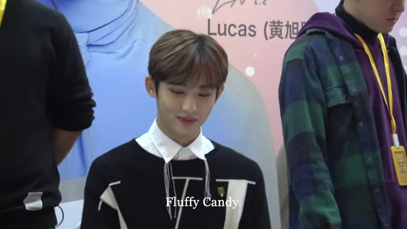 181109 CHENGDU FAN SIGN WINWIN FOCUS