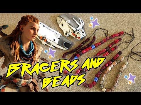 Making Armor Bracers Beads Aloy from Horizon Zero Dawn