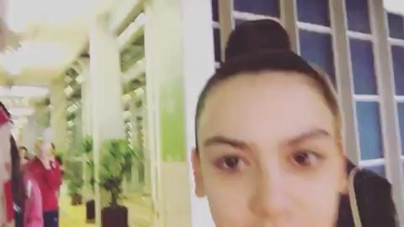 Полина Шматко и Лала Крамаренко —Instagram Алексея Ивкова Чемпионат Европы 2018