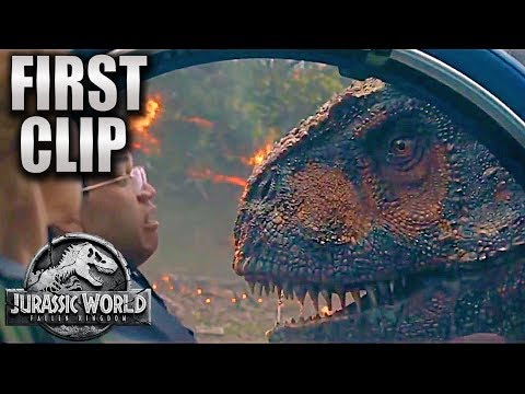 First Clip | T-Rex vs. Carnotaurus | Jurassic World_Fallen Kingdom [HD] Chris Pratt, Dinosaurs movie