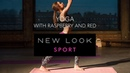 Yoga with Raspberry and Red   New Look Sport