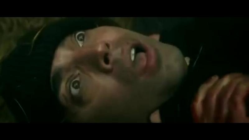 Woman strangling man F M Strangle Movie Rogue Agent