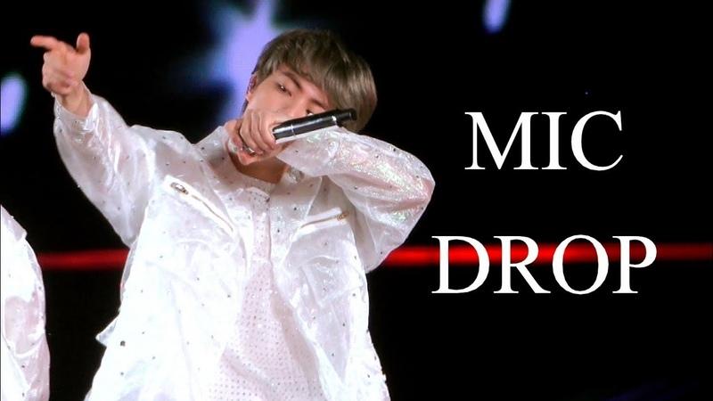 Gray Mic Drop 190113 NAGOYA Love yourself Concert 방탄소년단 석진 직캠 BTS Jin focus fancam