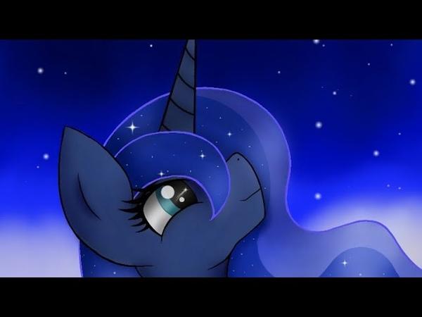 Princess Luna – speedpaint pony №2