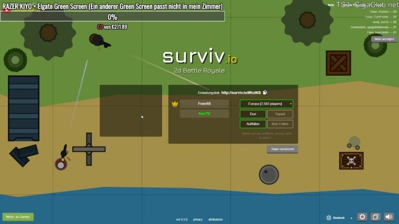 Surviv.io Stream | (Deutsch/HD) | KevTV
