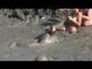 Ксюха прыгает в вулкан (грязевой)-Ksiukha jumps into the volcano (mud)