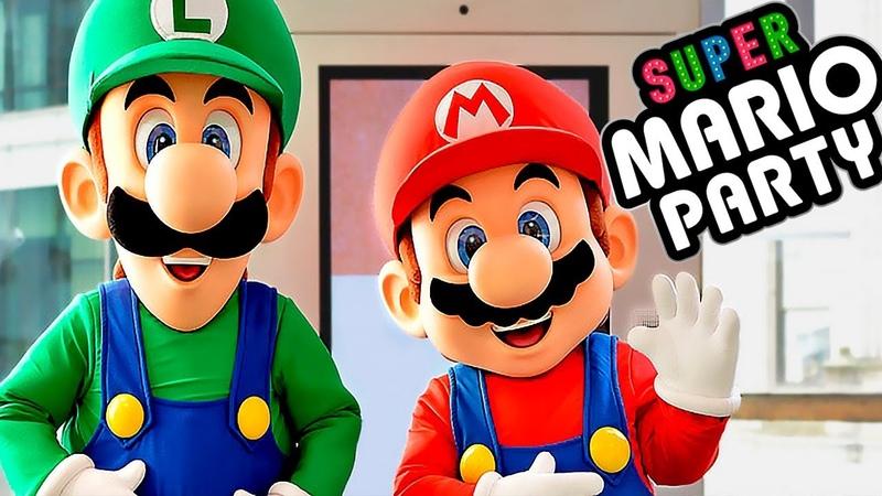 Super Mario Party - Игровой мультик для детей 2018 СУПЕР МАРИО Детский летсплей на СПТВ