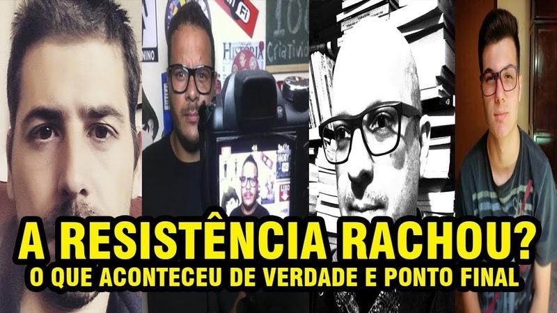 A RESISTÊNCIA RACHOU MINHAS SINCERAS DESCULPAS A JOICE HASSELMANN