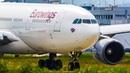 AIRBUS A330 Crosswind LANDING A340 DEPARTURE ASKCargo 019