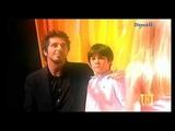 Patrick Fiori chante avec Valentin et Madeleine 4 mots sur un piano TNT show