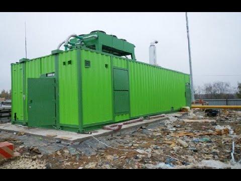 Свалочный газ как источник энергии Технологическое решение компании Цепеллин ПС Рус