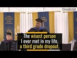 The Most Inspiring Speech The Wisdom of a Third Grade Dropout Will Change Your Life Rick Rigsby