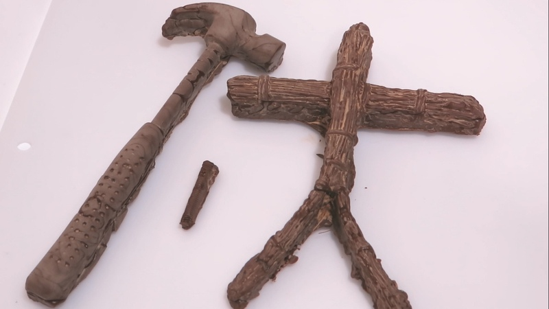 陰キャラの呪いの手作りバレンタイン。藁人形チョコレートセットを 20316