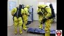 Обучение газоспасателей в изолирующих костюмах