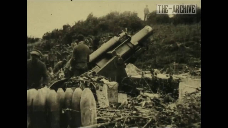 WWI Combat Footage - The Battle Of Château Thierry