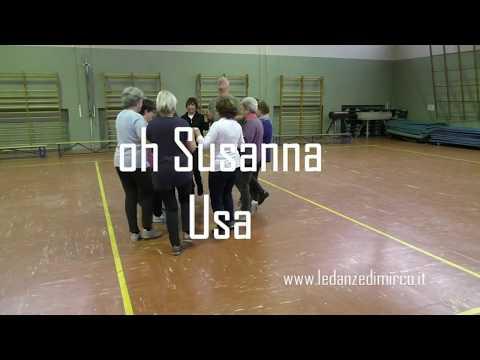 Oh Susanna - Usa, bailes para niños - kids dance - kinder tanz - school dance