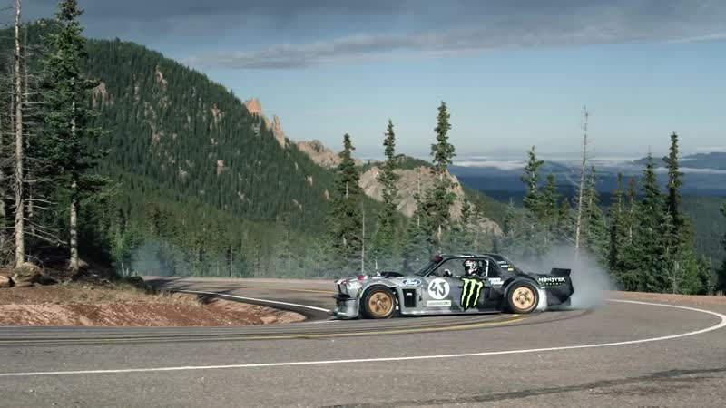 TOYO TIRES Ken Block's Climbkhana Pikes Peak Featuring the Hoonicorn