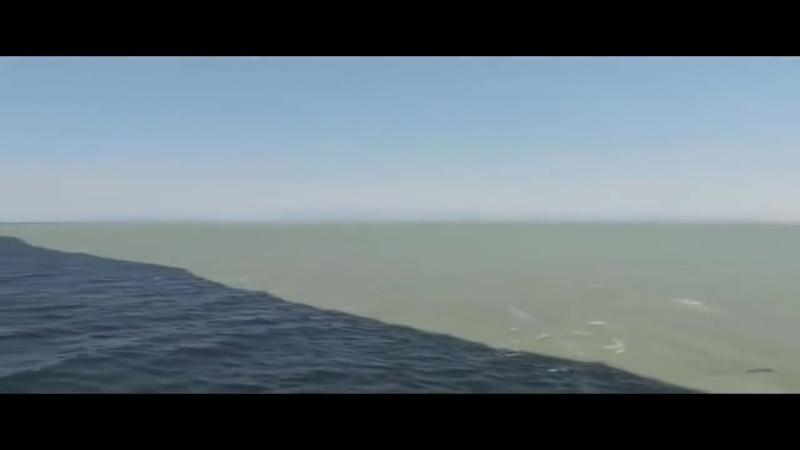 Слияние Тихого океана и Аляскинского залива.mp4