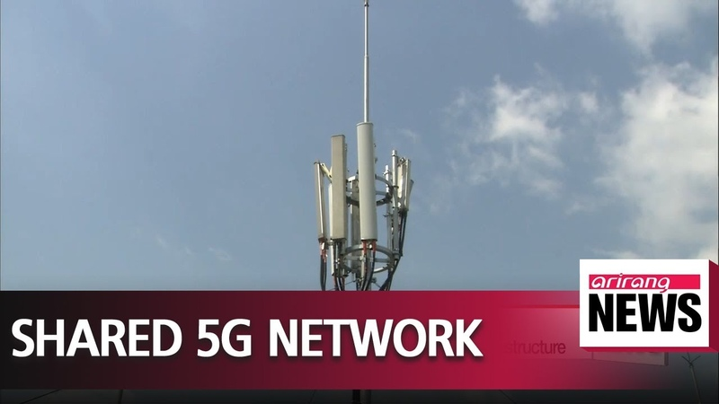 Korean telecom companies to build shared 5G network infrastructure