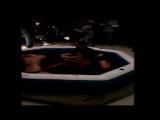 Guy stripped by 3 girls in jello wrestling (CFNM)