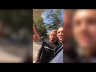 Гобозов увозит Кочервей после съёмок клипа Бузовой