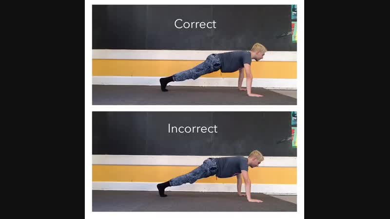 10 - Pushups - wide elbows