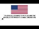 Pledge of Allegiance Watch a cartoon for kids on the Pledge of Allegiance to the Flag