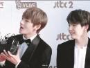 Taegi no tapete vermelho do Golden Disc Awards! 방탄소년단