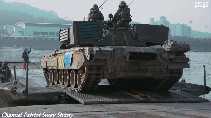 Южная Корея показала свои танки Т-80 которые получила от России в качестве компенсации долга