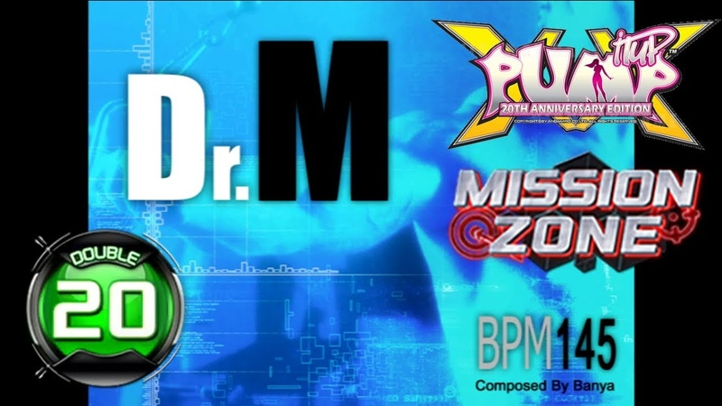 Dr M D20 PUMP IT UP XX 20th Anniversary Edition MISSION ZONE ✔